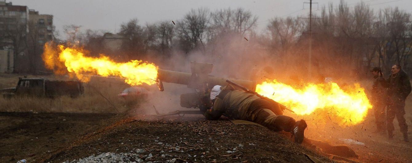 """Прикордонники показали відео обстрілу КПВВ """"Мар'їнка"""" з боку бойовиків"""