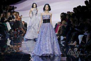 Показ Armani Prive на Неделе Haute Couture в Париже