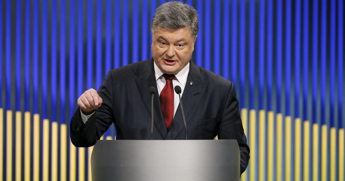 Порошенко утвердил новое военно-административное деление территории Украины