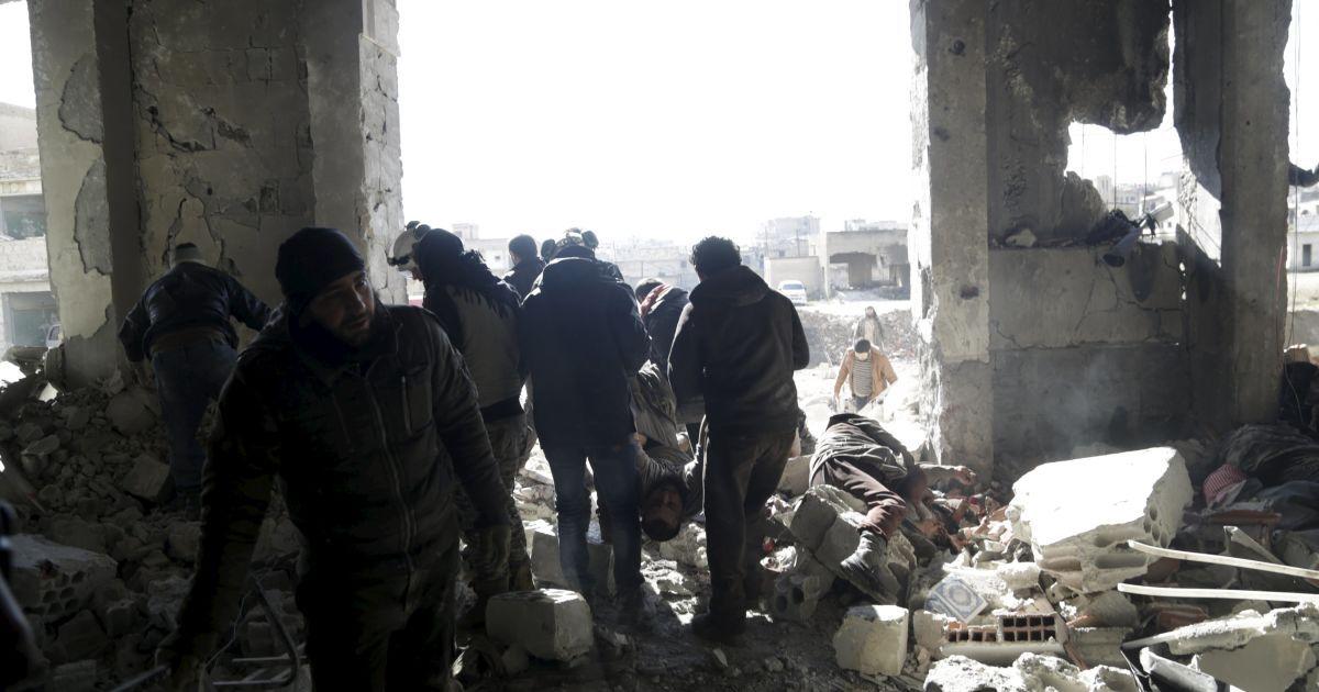 Містечко Аль-Нуман з 2012 року контролюється опозицією