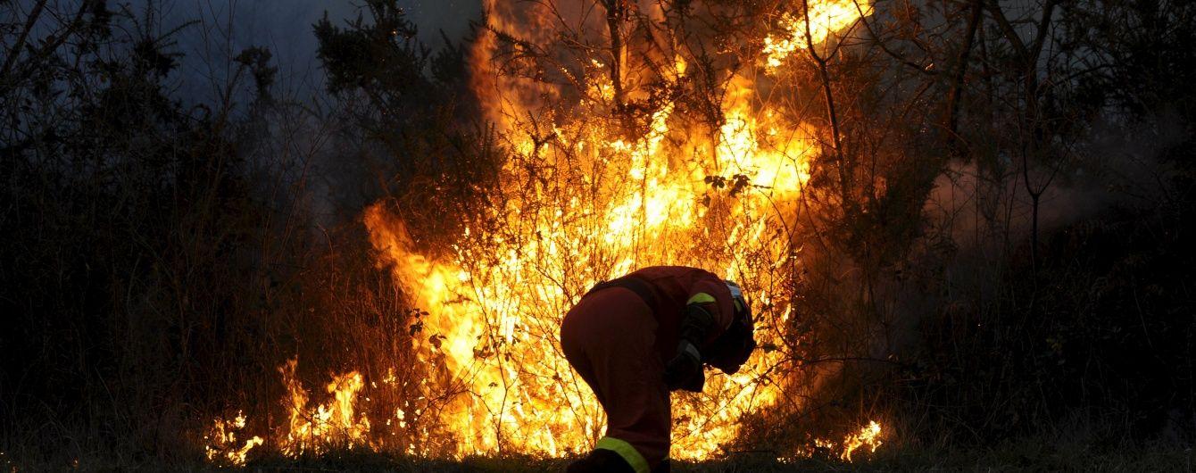 В Канаде лесные пожары охватили 85 тысяч гектаров