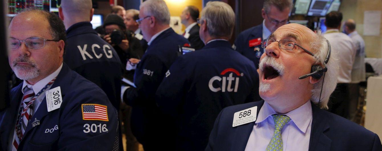 Фондовий ринок США зазнав рекордного за століття обвалу