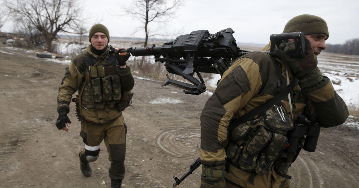 Боевики поспешно покинули Коминтерново и вывели всю технику - пресс-центр АТО