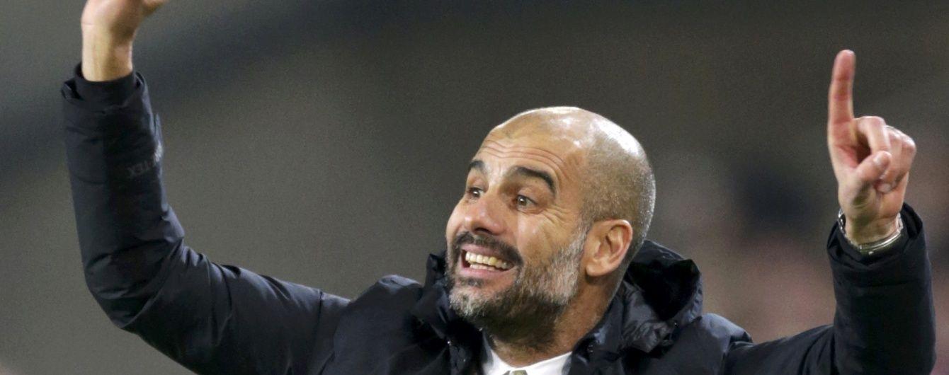 """""""Манчестер Сіті"""" та Гвардіола домовилися про співпрацю ще рік тому"""