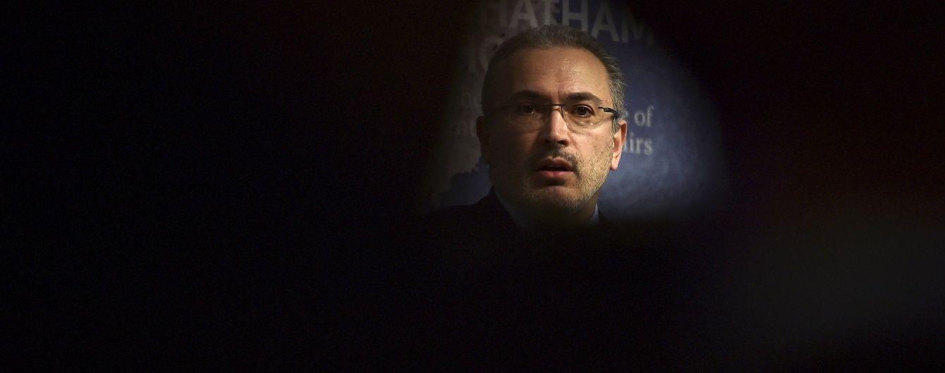 Інтерпол не оголосив у розшук Ходорковського