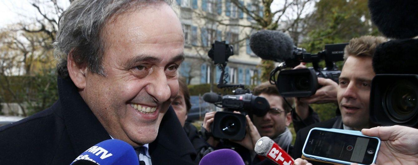 Платіні підтвердив, що йде з посади президента УЄФА
