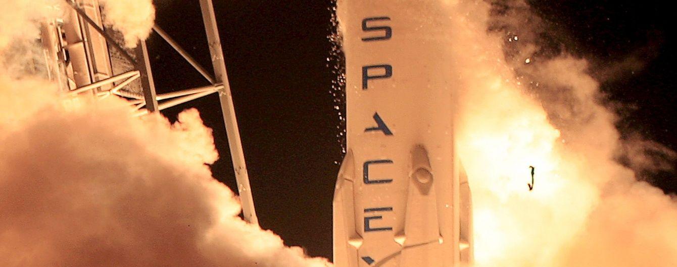 Старт ракети Falcon 9 вчетверте відклали