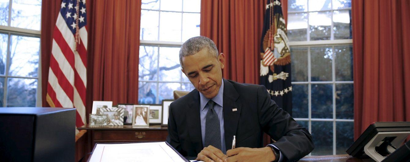 Обама пропонує виділити майже $ 5 мільярдів на протистояння Росії
