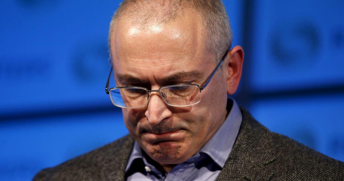 Ходорковський заявив про незаконність влади Путіна і необхідність революції