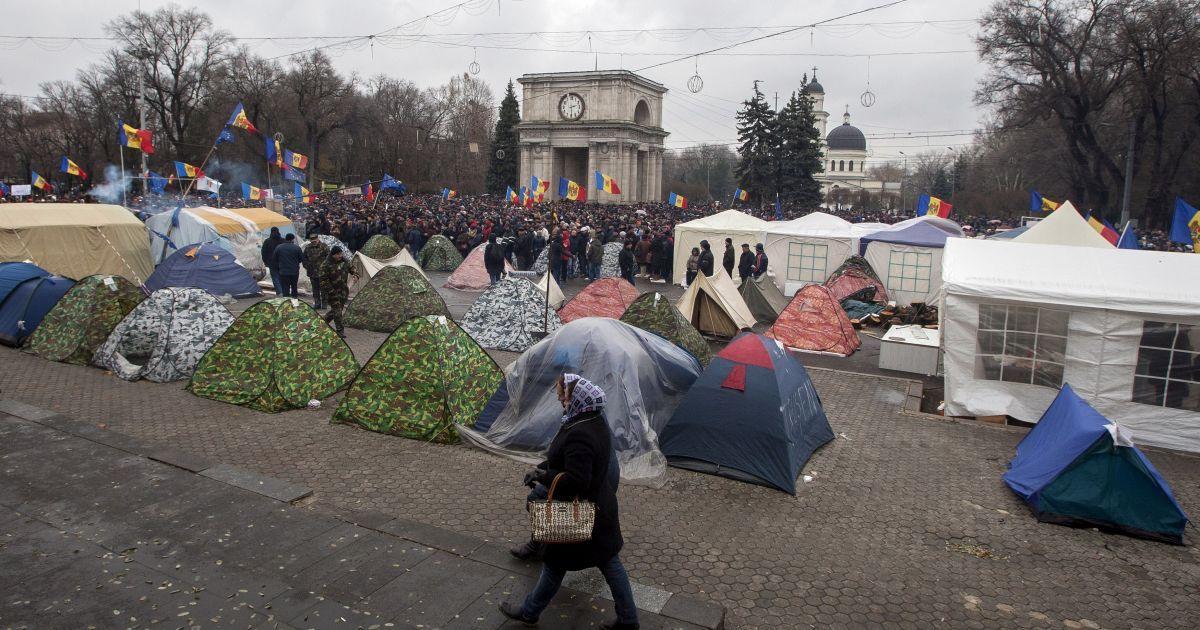 В Молдове граждане вышли на улицы городов