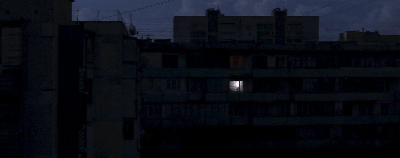 В окупованому Сімферополі відключають освітлення і призупиняють транспорт