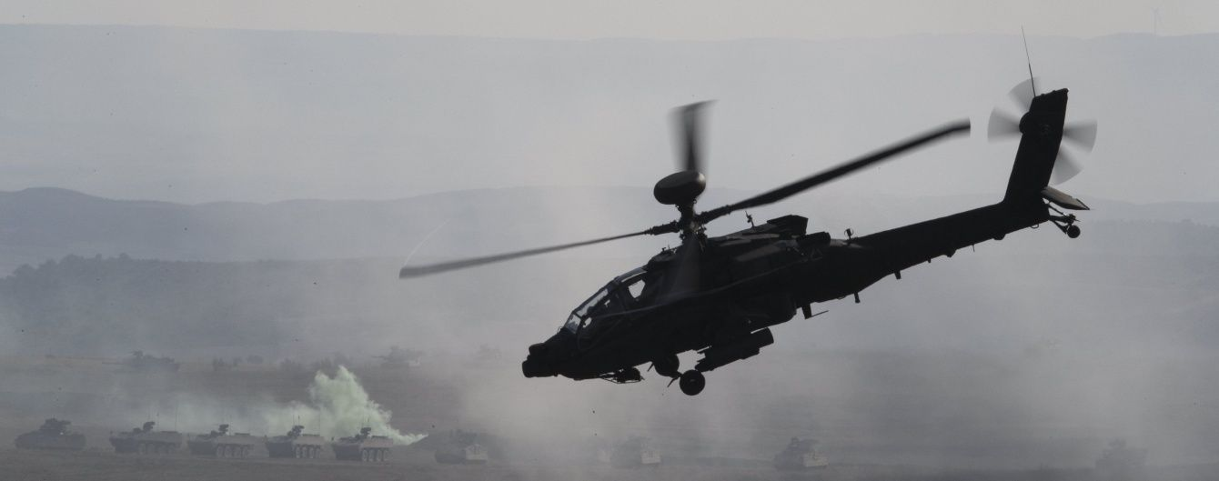У Росії впав гелікоптер МВС