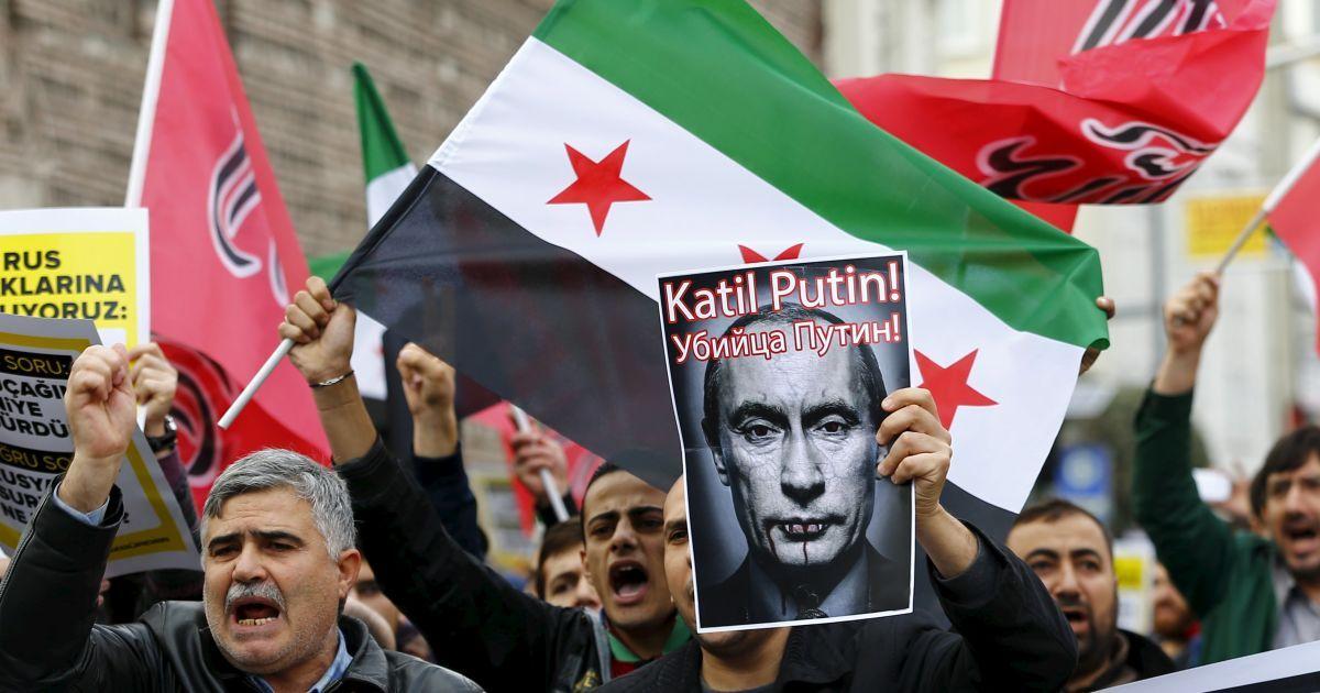 Россия отомстила повстанцам за гибель своего военного пилота в Сирии