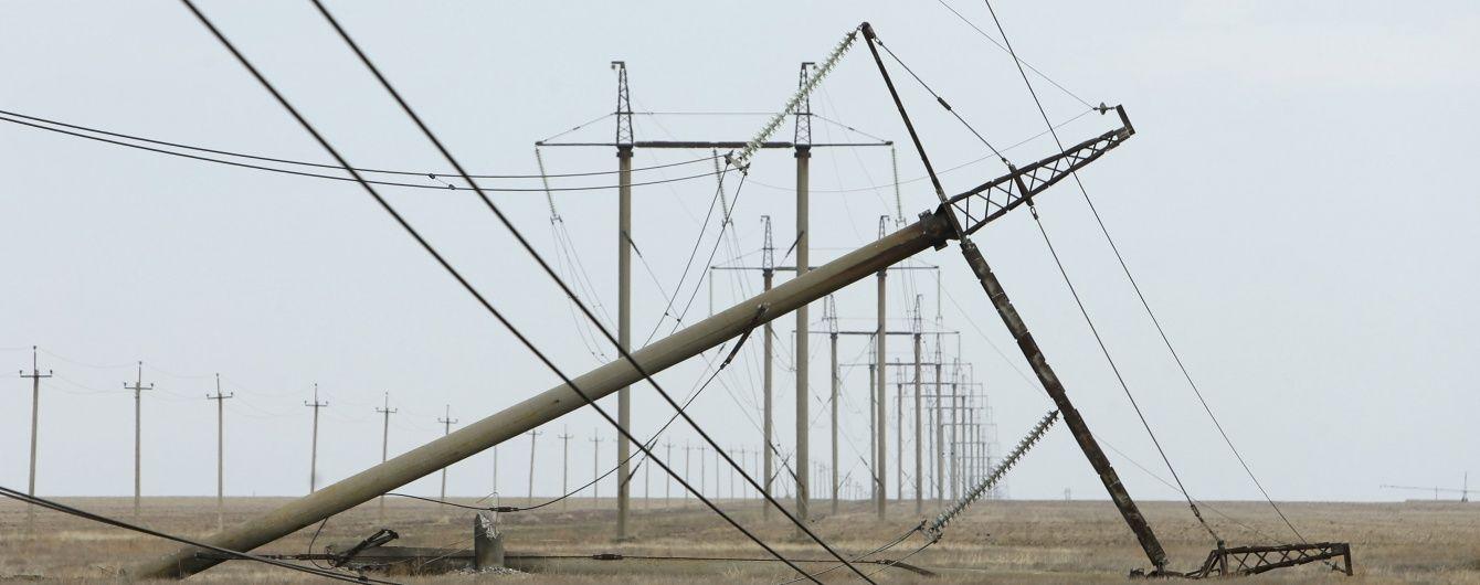 Россия угрожает Украине штрафом за непоставленную в Крым электроэнергию – документ