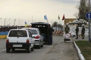 """До кінця 2018 року Україна """"майже з нуля"""" облаштує два КПВВ на адмінмежі з Кримом"""
