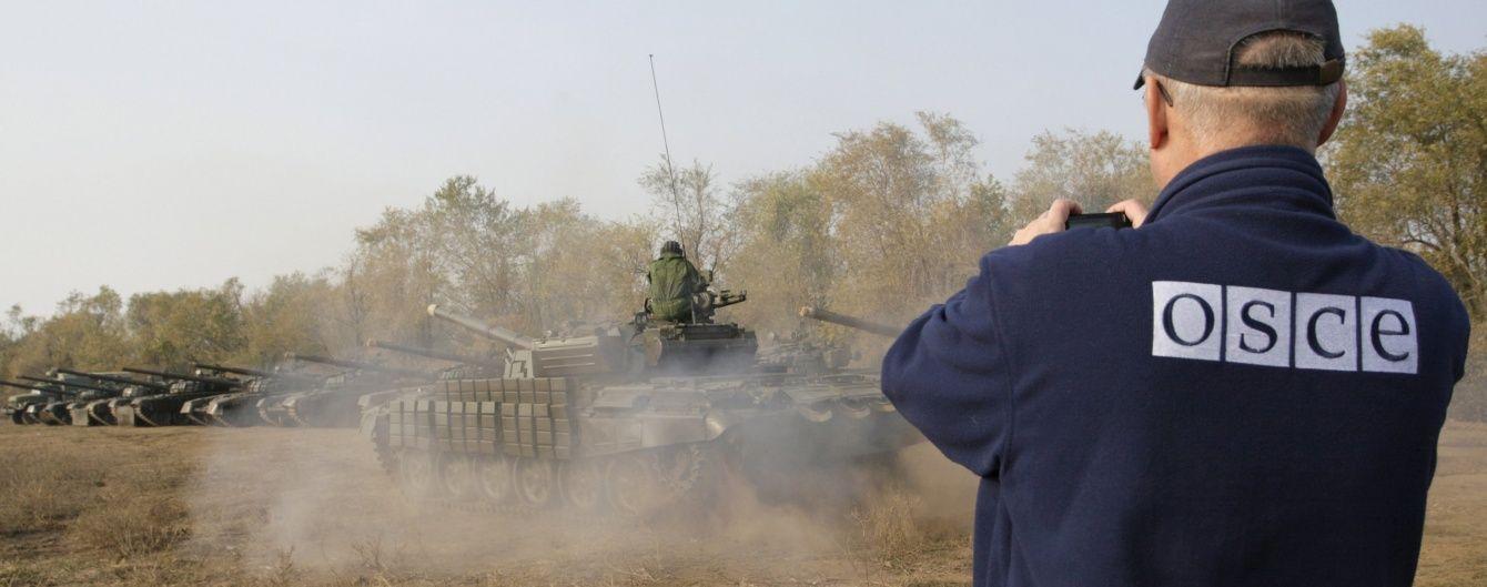 """Бойовики """"ЛНР"""" погрожували відкрити вогонь по місії ОБСЄ, яка виявила в них заборонену зброю"""