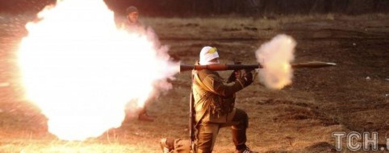 Бойовики з міномета обстріляли українських військових під Красногорівкою