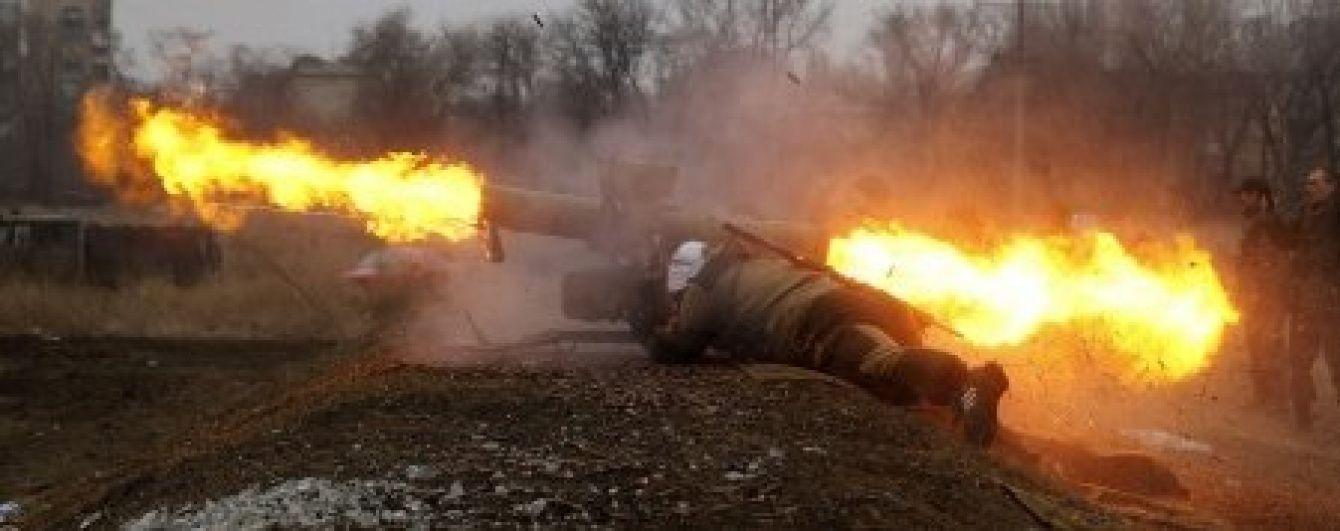 На Луганщині бойовики обстріляли позиції бійців АТО протитанковою ракетою