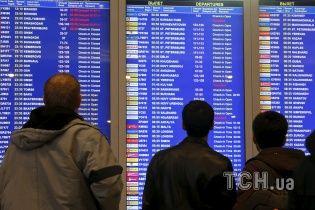 У Москві через погоду затримано та скасовано десятки авіарейсів – ЗМІ