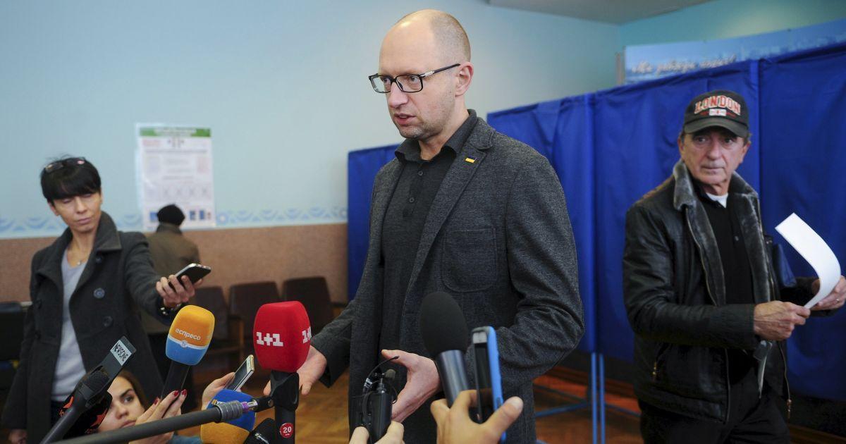 Яценюк назвал главную проблему местных выборов в Украине
