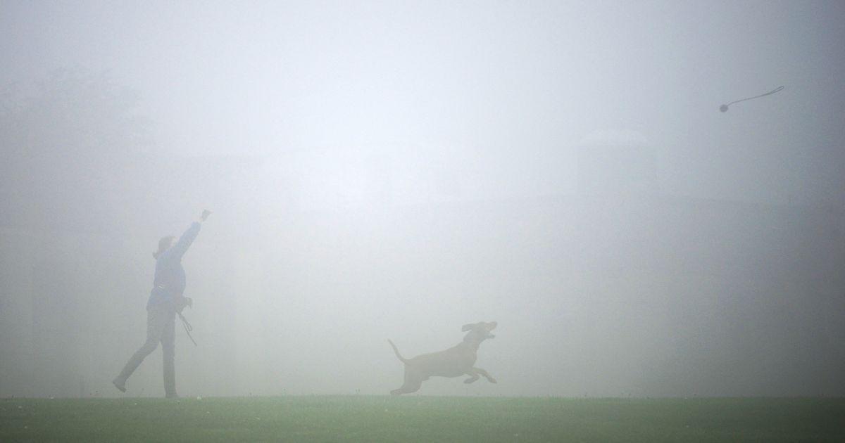 Лондон погрузился в рекордный туман