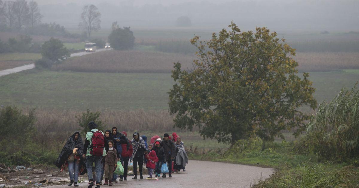 Мигрантам разрешили проходить на территорию Хорватии. @ Reuters
