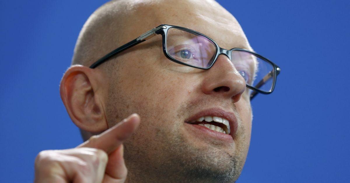 Яценюк рассказал, насколько украинский рынок зависит от России