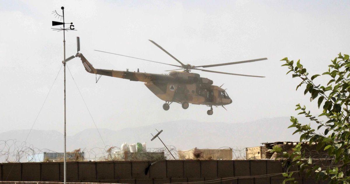 В Афганістані загинули п'ять військових НАТО під час катастрофи вертольота