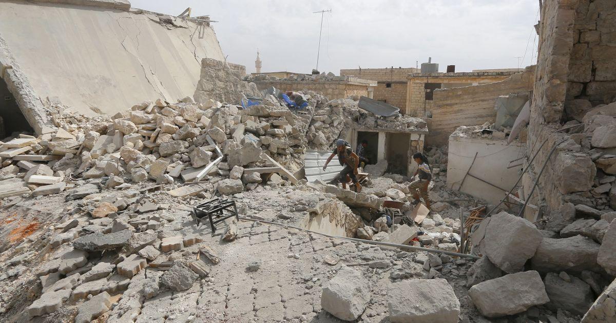 Опубликовано фото разбомбленного авиацией РФ госпиталя в Сирии