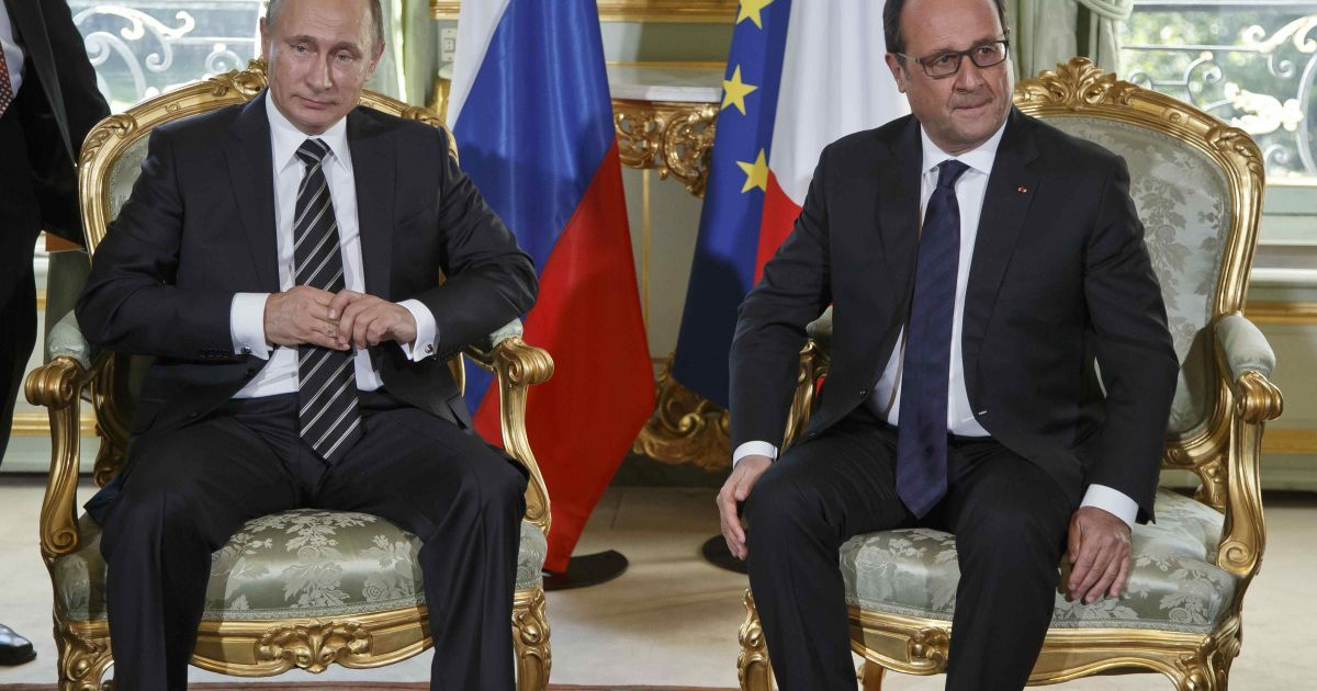 Олланд и Путин провели встречу