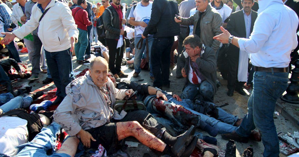 В МИД заверили, что украинцы не пострадали во время кровавого теракта в Анкаре