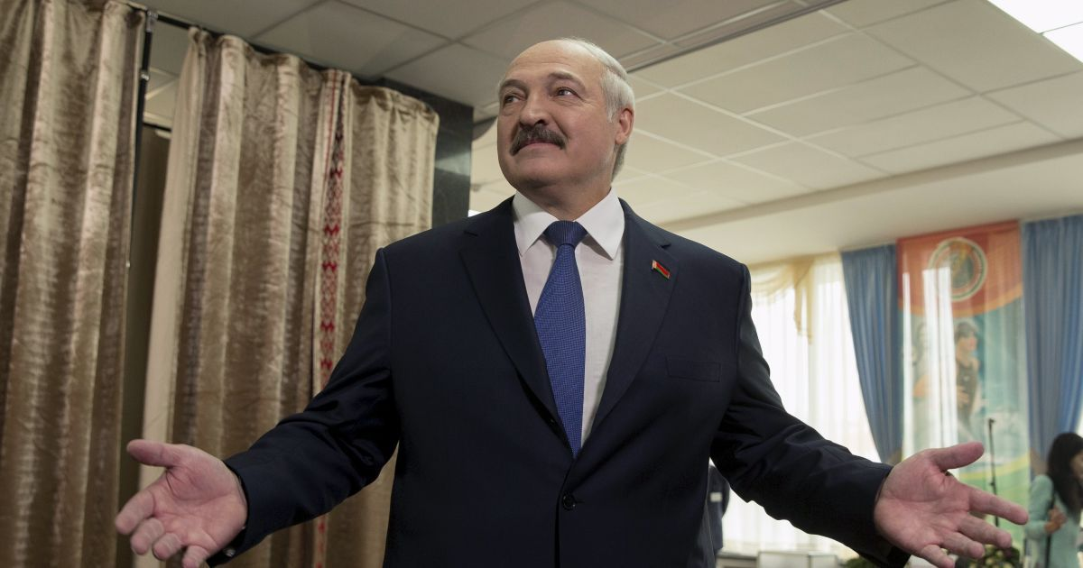 Лукашенко в пятый раз победил на выборах президента Белоруссии