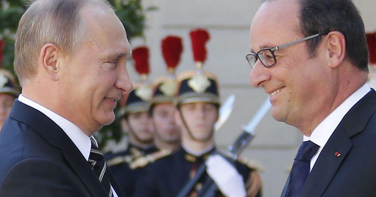 """Олланд встречал лидеров """"Норманнской четверки"""" @ Reuters"""