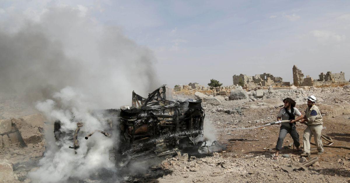 Авиация ударила возле базы повстанцев