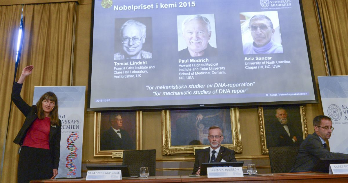 Стали известны победители Нобелевской премии в области химии