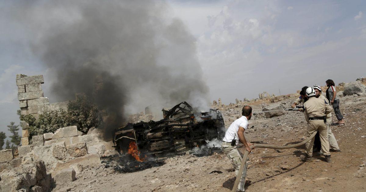 Очевидцы бомбежки в Сирии: россияне атаковали гражданское население