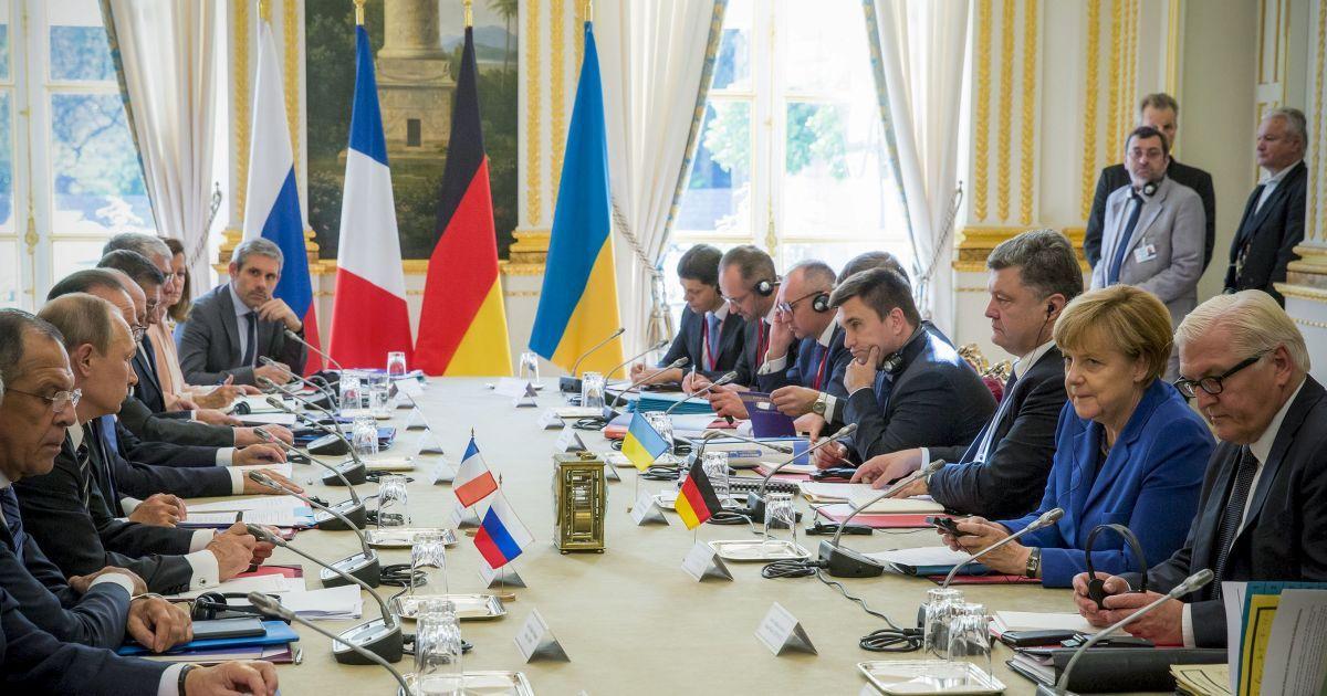 """""""Нормандская четверка"""": Минские договоренности должны быть выполнены до конца 2015 года"""