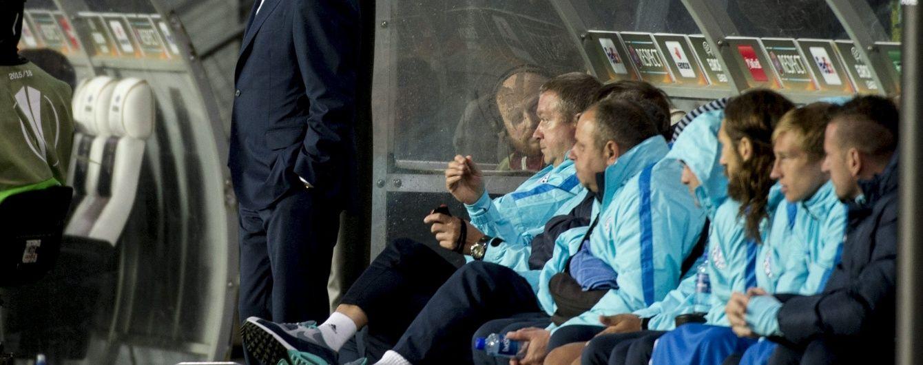 """Тренер """"Дніпра"""" залишився незадоволений атакою своєї команди в переможному матчі з """"Русенборгом"""""""