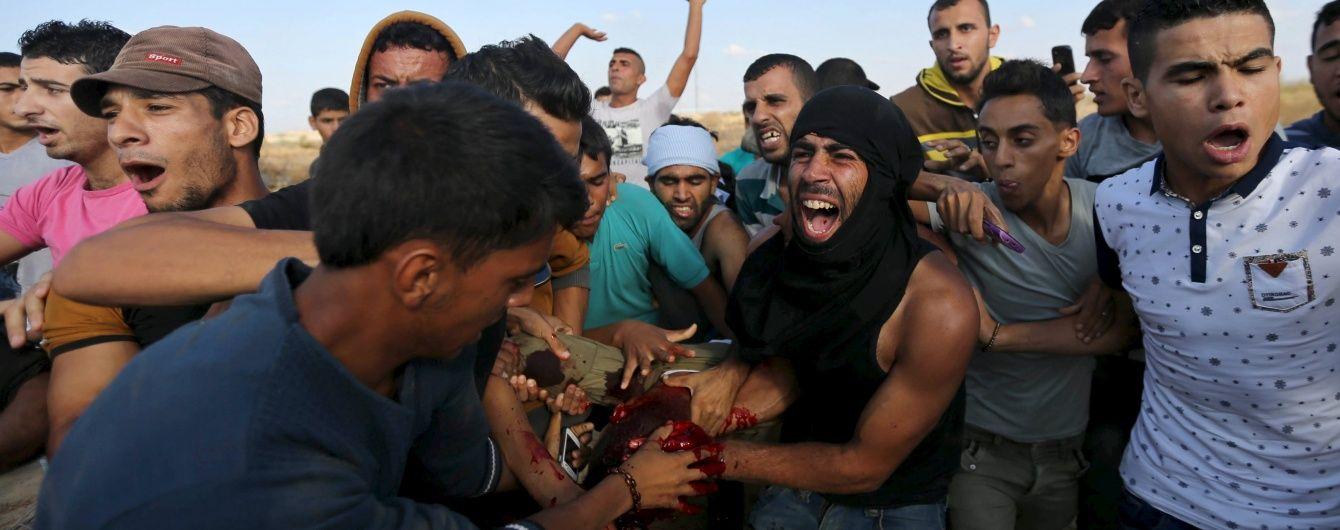 Зіткнення в Секторі Гази: 10 палестинців поранено в результаті атаки ізраїльських військових
