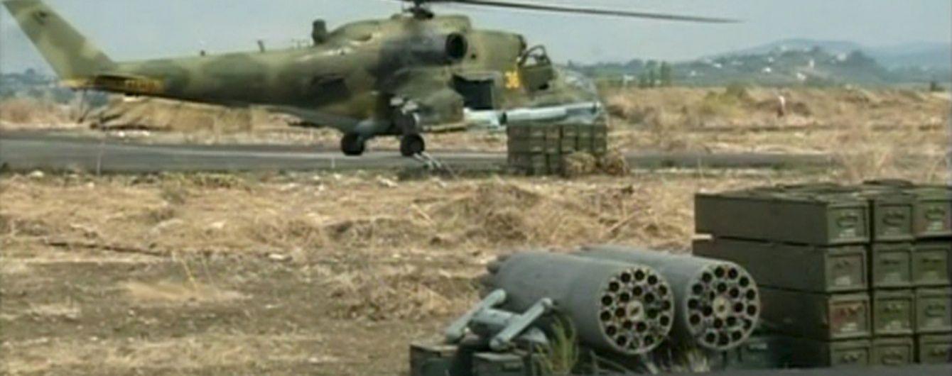 Россия перебросила новые армейские самолеты и вертолеты в Крым