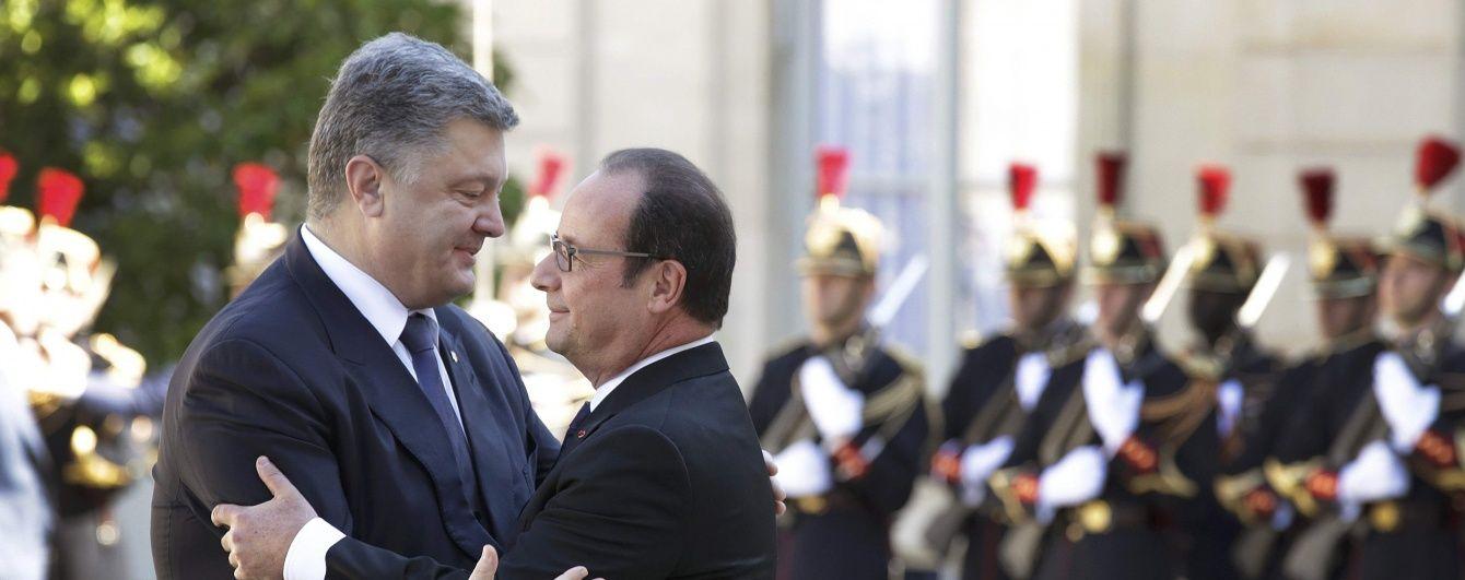 Порошенко вирушає до Франції: зустріч із Олландом та ймовірний візит на Євро-2016