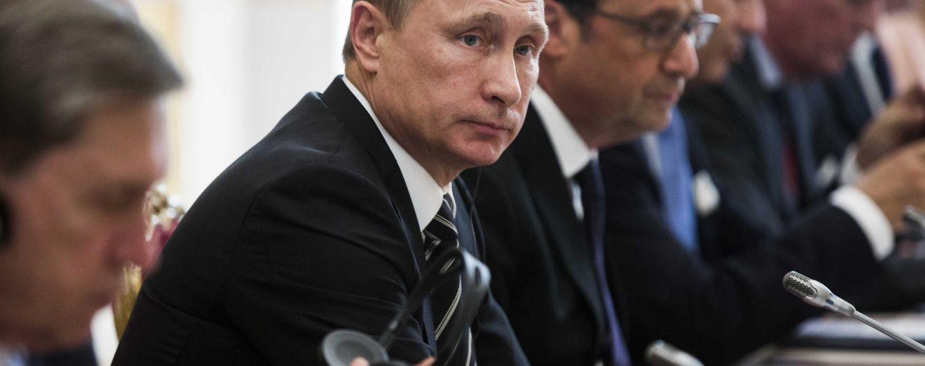 Олланд може обговорити з Путіним Сирію на зустрічі в Берліні - ЗМІ