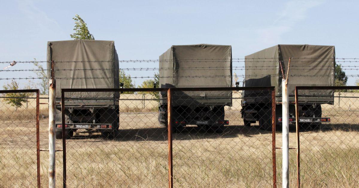 На новій військовій базі слідів будівництва поки не видно, але військові там вже є. @ Reuters