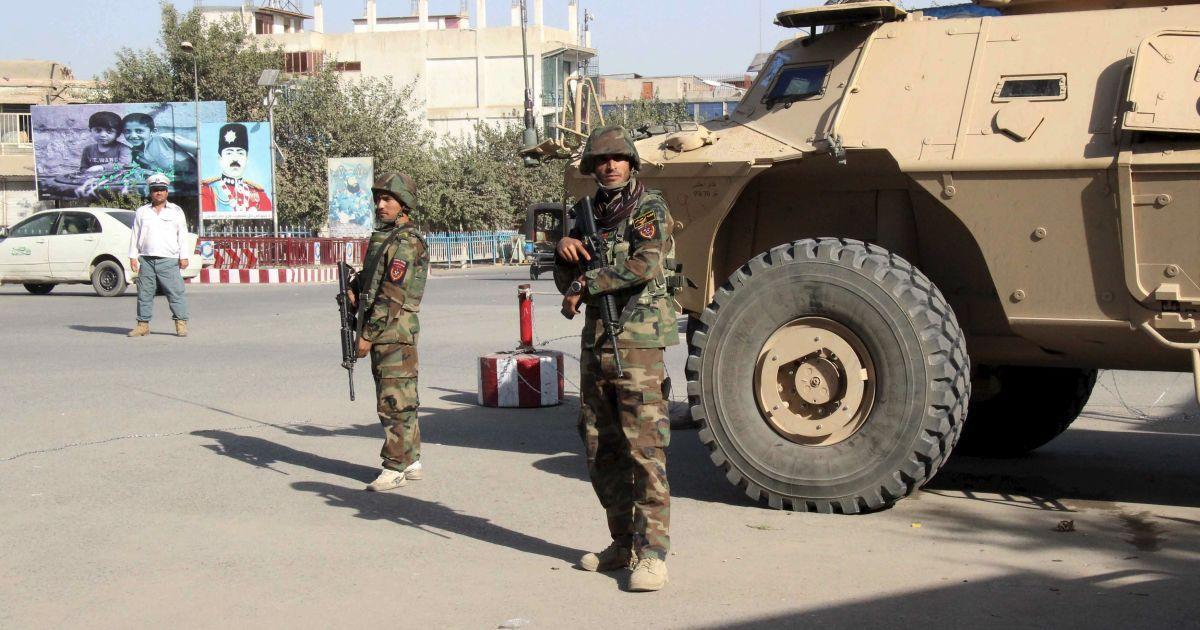 Талибан укрепился в городе @ Reuters