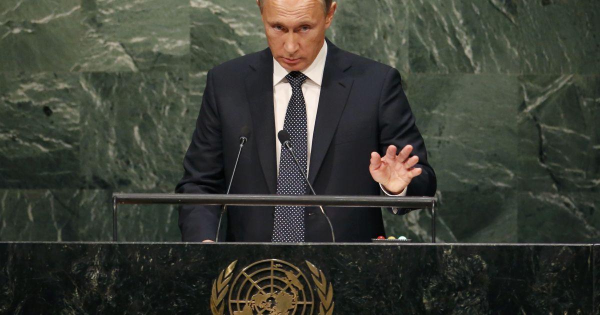 """Путин увидел в Украине """"спровоцированный извне переворот"""""""