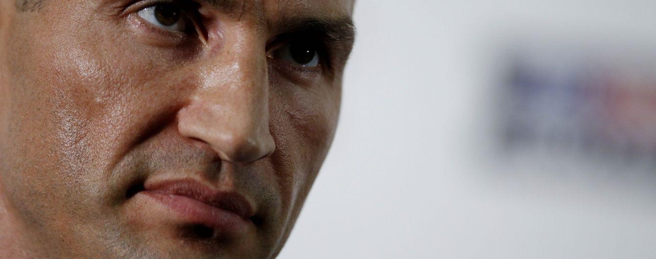 Володимир Кличко збирається взяти участь в Олімпійских Іграх-2016