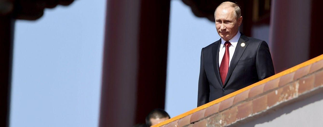 Рейтинг Путіна в Росії підскочив до рекордної позначки