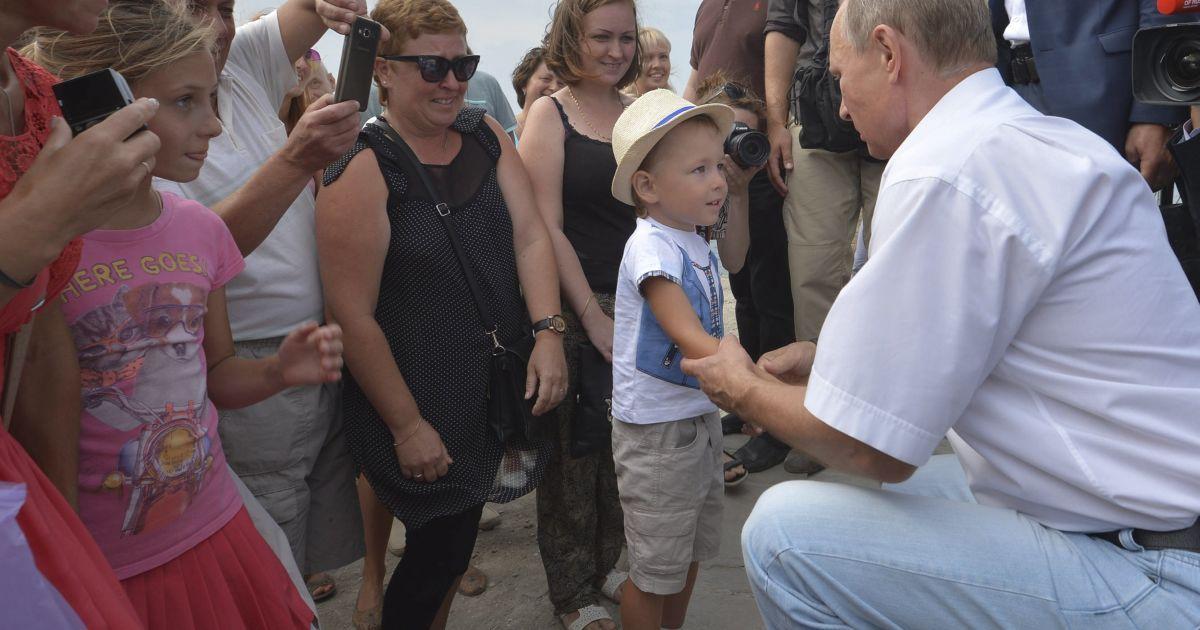 Путин и Берлускони провели уикенд в Крыму @ Reuters