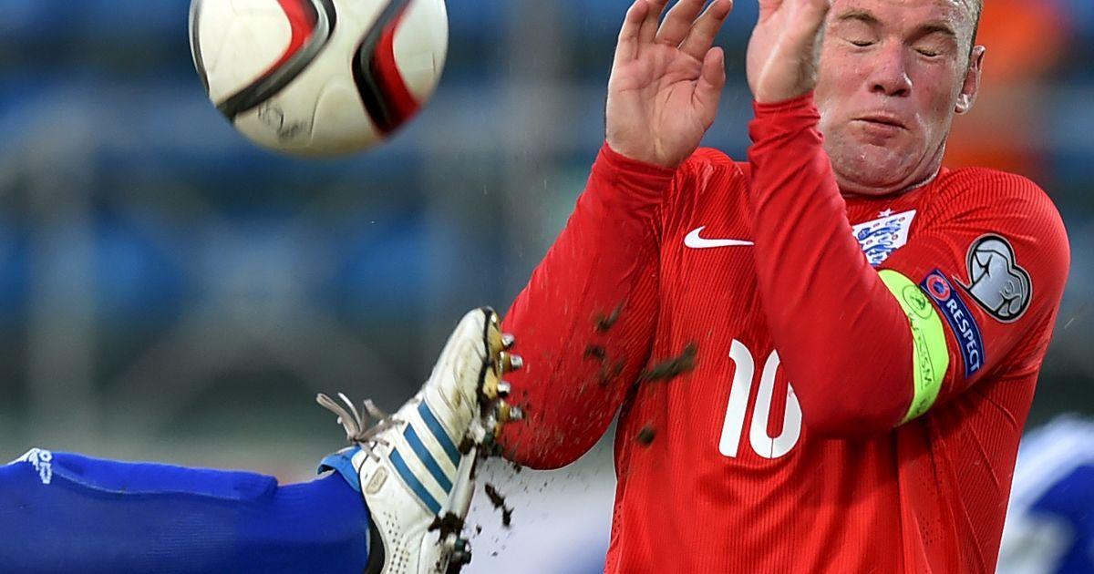 Момент отборочного футбольного матча на Евро-2016 между командами Англии и Сан-Марино @ Reuters