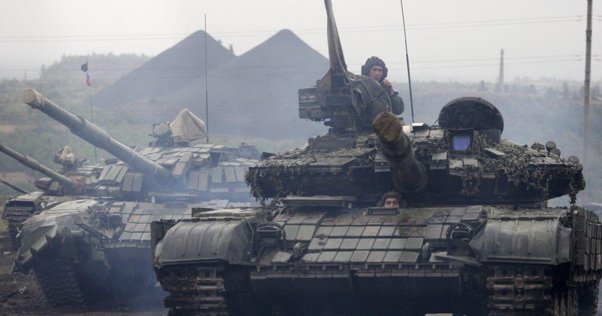 Во время танкового биатлона боевиков в Торезе погиб ребенок